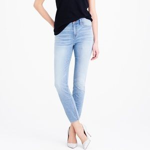 J. Crew Lookout High Rise Crop Jeans Size 25